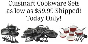 Cuisinart Cookware Sets as low as $59.99 Shipped! (reg. $199.99)