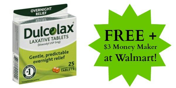 Free Dulcolax Laxative Tablets At Walmart 3 Money Maker
