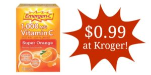 Kroger: Emergen-C 10-Count Packets Only $0.99!