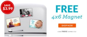 FREE 4×6 Photo Magnet + 40 FREE 4×6 Photo Prints!