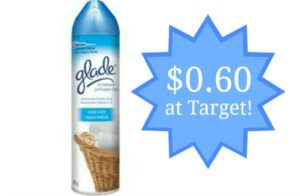 Target: Glade Room Spray Only $0.60!