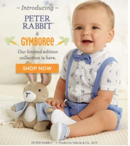 *NEW* Gymboree Peter Rabbit Collection – 20% OFF + FREE Shipping!