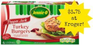 Kroger: Jennie-O Turkey Burgers Only $3.75!