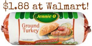 Walmart: Jennie-O Turkey Sausage Only $1.88!