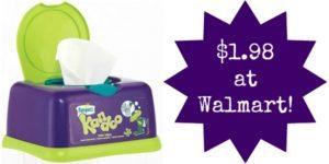 Walmart: Kandoo Wipes Only $1.98!