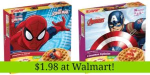 Walmart: Kellogg's Eggo Special Edition Waffles 16ct Only $1.98!