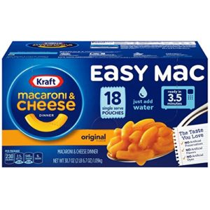 Kraft Easy Mac 18 count Only $3.29! ($0.18 each)