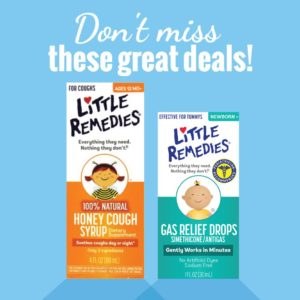 Little Remedies Gas Drops and Honey Cough Syrup on Rollback at Walmart!