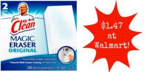 Walmart: Mr. Clean Magic Eraser Only $1.47!
