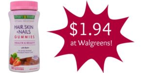 Walgreens: Nature's Bounty Optimal Solutions Gummies Only $1.94!