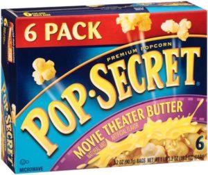 Target: Pop Secret Microwave Popcorn 6-pack Only $2.08!