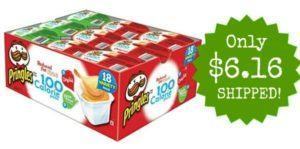 Pringles 2 Flavor Snack Stacks 18-Count Only $6.16! ($0.34 each)