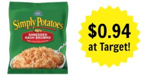 Target: Simply Potatoes Shredded Hash Browns Only $0.94!