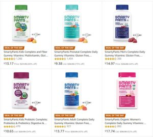 Smarty Pants Vitamins up to 73% OFF! Today Only!