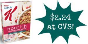 CVS: Special K Nourish Cereal Only $2.24!