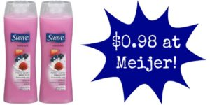 Meijer: Suave Body Wash Only $0.98!