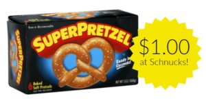 Schnucks: SuperPretzel Soft Pretzels Only $1.00!