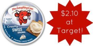 Target: The Laughing Cow Cheese Only $2.10!