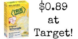 Target: True Lemon Water Enhancer Only $0.89!
