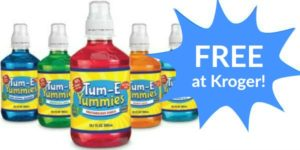 FREE Tum-E Yummies Drink at Kroger!