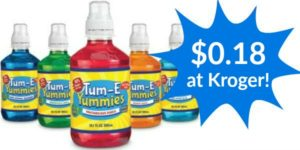 Kroger: Tum-E Yummies Drink Only $0.18!