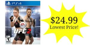 UFC 2 on PS4 or Xbox One Only $24.99 – Lowest Price!