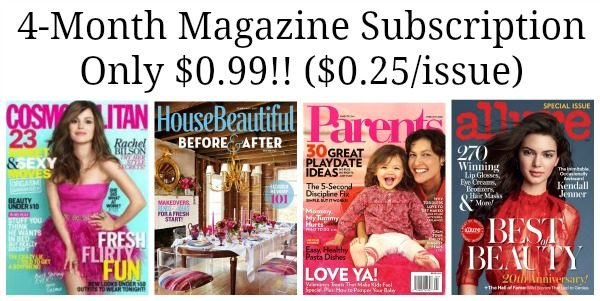 4-month-magazine-subscriptions