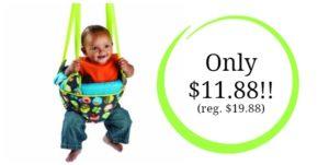 Evenflo ExerSaucer Door Jumper Only $11.88! (reg. $19.88)