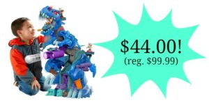 Fisher-Price Imaginext Ultra T-Rex – Ice Only $44! (reg. $99.99)