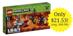 LEGO Minecraft The Wither Set $21.53 – Lowest Price! (reg. $49.99)