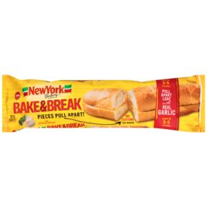 Meijer: New York Bakery Bake & Break Garlic Bread Only $0.24!
