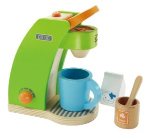 Hape Wooden Play Coffee Maker Only $19.39 (Reg. $25)! Best Price!