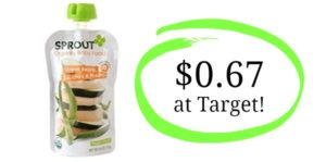 Target: Sprout Organic Stage 2 Baby Food Pouches Only $0.67!