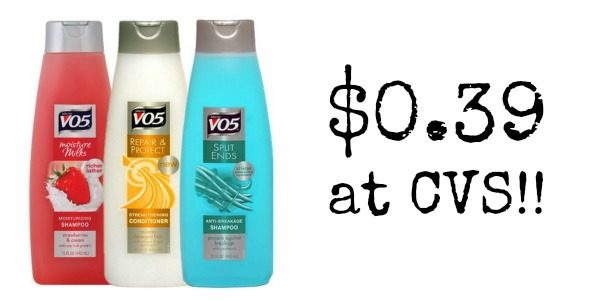cvs  alberto vo5 shampoo or conditioner only  0 39