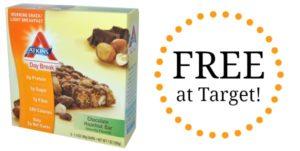FREE Atkins Snack Bars at Target!