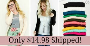 Cents of Style Fashion Friday Sale: 50% OFF Cardigans + FREE Shipping!