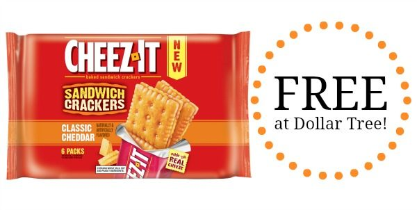photograph regarding Cheez It Coupon Printable named Totally free Cheez-It Sandwich Crackers at Greenback Tree! - Develop into a