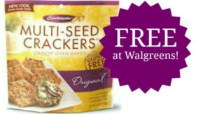 FREE Crunchmaster Crackers at Walgreens!