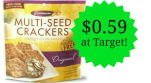Target: Crunchmaster Crackers Only $0.59!
