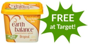 FREE Earth Balance Buttery Spread at Target!