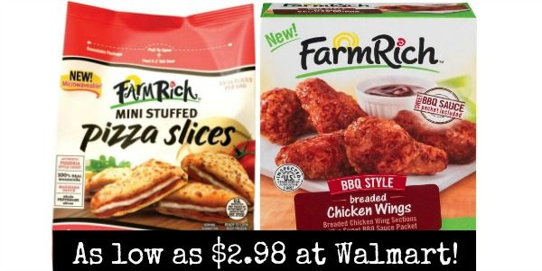 Walmart: Farm Rich Snacks as low as $2 98! - Become a Coupon