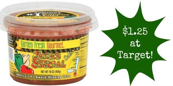 Target: Garden Fresh Salsa Only $1.25! - Become a Coupon Queen