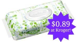 Kroger: Huggies Wipes Only $0.89!