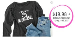 Cents of Style Fashion Friday Sale: 50% OFF Sweatshirts + FREE Shipping!