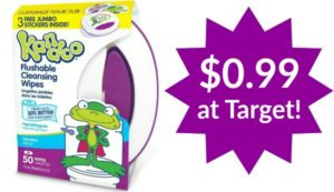 Target: Kandoo Wipes Only $0.99!