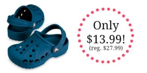 Crocs Kids' Baya Clogs Only $13.99! (reg. $27.99)