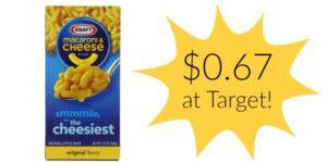 Target: Kraft Macaroni & Cheese Only $0.67!