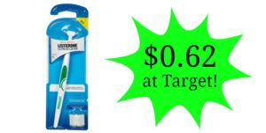 Target: Listerine Flossers Only $0.62!