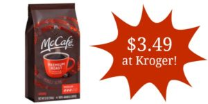 Kroger: McCafe Ground Coffee Only $3.49!