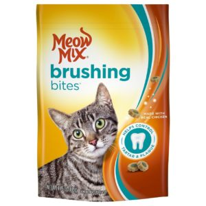 Kroger: Meow Mix Brushing Treats Only $0.64!